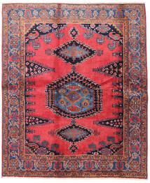 Wiss Alfombra 188X225 Oriental Hecha A Mano Marrón/Negro (Lana, Persia/Irán)