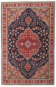 Tabriz Patina Alfombra 98X150 Oriental Hecha A Mano Gris Oscuro/Rojo Oscuro (Lana, Persia/Irán)