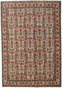 Ardabil Patina Alfombra 273X395 Oriental Hecha A Mano Gris Oscuro/Marrón Claro Grande (Lana, Persia/Irán)