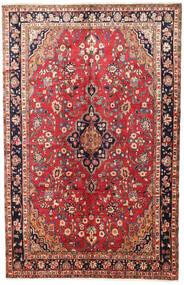 Mehraban Alfombra 200X314 Oriental Hecha A Mano Rojo Oscuro/Óxido/Roja (Lana, Persia/Irán)
