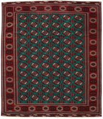 Turkaman Patina Alfombra 293X338 Oriental Hecha A Mano Rojo Oscuro/Marrón Oscuro Grande (Lana, Persia/Irán)