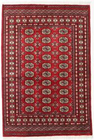 Pakistan Bukara 2Ply Alfombra 125X185 Oriental Hecha A Mano Rojo Oscuro (Lana, Pakistán)