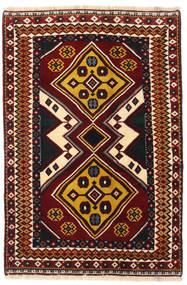 Gashgai Alfombra 127X190 Oriental Hecha A Mano Rojo Oscuro (Lana, Persia/Irán)