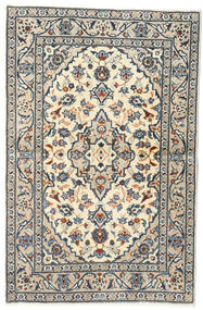 Keshan Alfombra 95X147 Oriental Hecha A Mano Gris Claro/Gris Oscuro (Lana, Persia/Irán)