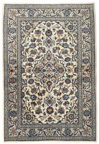 Keshan Alfombra 102X150 Oriental Hecha A Mano Gris Oscuro/Gris Claro (Lana, Persia/Irán)