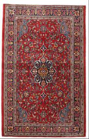 Sarough Alfombra 105X165 Oriental Hecha A Mano Rojo Oscuro/Marrón Oscuro (Lana, Persia/Irán)
