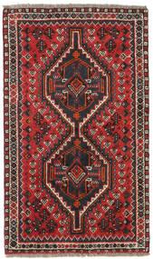 Shiraz Alfombra 76X128 Oriental Hecha A Mano Óxido/Roja/Negro (Lana, Persia/Irán)