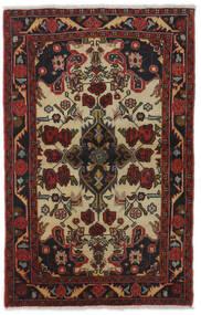Mehraban Alfombra 83X129 Oriental Hecha A Mano Rojo Oscuro/Marrón Oscuro (Lana, Persia/Irán)