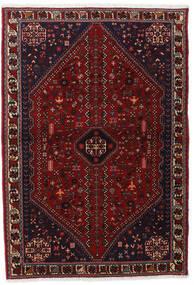 Abadeh Alfombra 102X150 Oriental Hecha A Mano Rojo Oscuro (Lana, Persia/Irán)