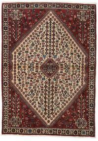 Abadeh Alfombra 110X150 Oriental Hecha A Mano Rojo Oscuro/Marrón Claro (Lana, Persia/Irán)