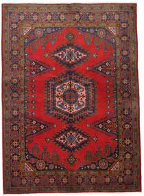 Wiss Alfombra 155X215 Oriental Hecha A Mano Rojo Oscuro/Marrón Oscuro (Lana, Persia/Irán)