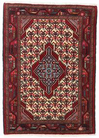Hamadan Alfombra 82X119 Oriental Hecha A Mano Rojo Oscuro/Marrón Oscuro (Lana, Persia/Irán)