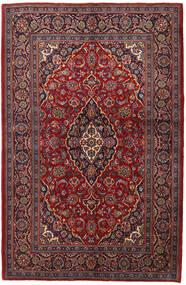 Keshan Alfombra 143X215 Oriental Hecha A Mano Rojo Oscuro/Marrón Oscuro (Lana, Persia/Irán)