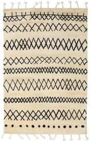 Beni Berber Alfombra 180X275 Moderna Hecha A Mano Beige/Gris Oscuro (Lana, India)