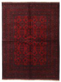Afghan Khal Mohammadi Alfombra 172X227 Oriental Hecha A Mano Rojo Oscuro/Marrón Oscuro (Lana, Afganistán)