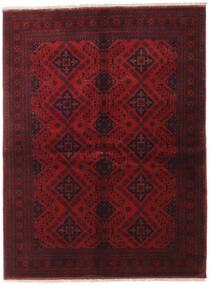 Afghan Khal Mohammadi Alfombra 149X199 Oriental Hecha A Mano Rojo Oscuro (Lana, Afganistán)