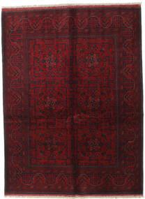 Afghan Khal Mohammadi Alfombra 150X199 Oriental Hecha A Mano Rojo Oscuro (Lana, Afganistán)