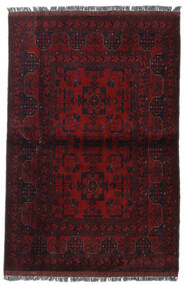 Afghan Khal Mohammadi Alfombra 103X153 Oriental Hecha A Mano Rojo Oscuro (Lana, Afganistán)