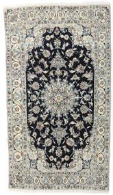 Nain Alfombra 118X210 Oriental Hecha A Mano Gris Claro/Gris Oscuro (Lana, Persia/Irán)