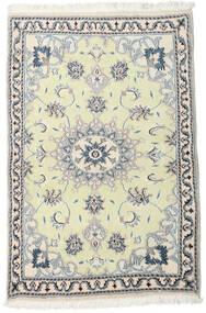 Nain Alfombra 89X139 Oriental Hecha A Mano Beige/Blanco/Crema (Lana, Persia/Irán)