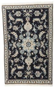 Nain Alfombra 86X140 Oriental Hecha A Mano Gris Oscuro/Gris Claro (Lana, Persia/Irán)