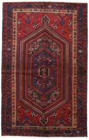 Hamadan Alfombra 137X217 Oriental Hecha A Mano Rojo Oscuro/Marrón Oscuro (Lana, Persia/Irán)