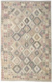Kilim Afghan Old Style Alfombra 190X301 Oriental Tejida A Mano Gris Claro (Lana, Afganistán)