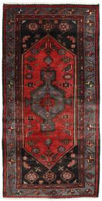 Hamadan Alfombra 101X200 Oriental Hecha A Mano Rojo Oscuro/Marrón Oscuro (Lana, Persia/Irán)