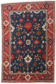 Heriz Alfombra 197X300 Oriental Hecha A Mano Azul Oscuro/Gris Oscuro (Lana, Persia/Irán)