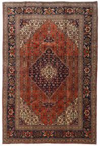 Tabriz Alfombra 205X305 Oriental Hecha A Mano Rojo Oscuro/Marrón Claro (Lana, Persia/Irán)
