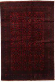 Afghan Khal Mohammadi Alfombra 198X289 Oriental Hecha A Mano Rojo Oscuro (Lana, Afganistán)