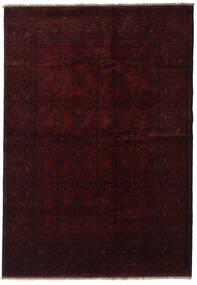 Afghan Khal Mohammadi Alfombra 199X286 Oriental Hecha A Mano Rojo Oscuro (Lana, Afganistán)