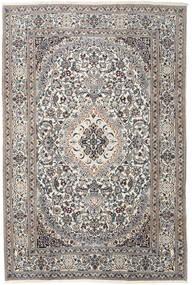 Nain Alfombra 200X300 Oriental Hecha A Mano Gris Claro/Beige (Lana, Persia/Irán)