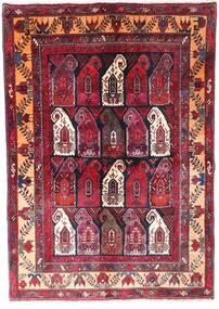 Zanjan Alfombra 145X210 Oriental Hecha A Mano Rojo Oscuro/Marrón Oscuro (Lana, Persia/Irán)