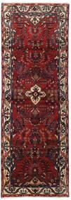 Hamadan Alfombra 102X292 Oriental Hecha A Mano Rojo Oscuro/Gris Oscuro (Lana, Persia/Irán)