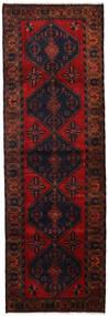 Hamadan Alfombra 100X308 Oriental Hecha A Mano Rojo Oscuro/Óxido/Roja (Lana, Persia/Irán)