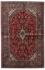 Keshan Alfombra 135X209 Oriental Hecha A Mano Rojo Oscuro/Marrón Oscuro (Lana, Persia/Irán)
