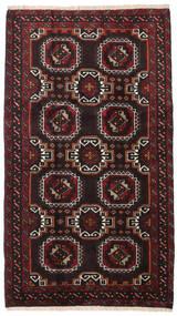 Belouch Alfombra 99X172 Oriental Hecha A Mano Negro/Rojo Oscuro (Lana, Persia/Irán)
