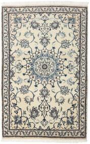 Nain Alfombra 90X140 Oriental Hecha A Mano Beige/Gris Oscuro (Lana, Persia/Irán)