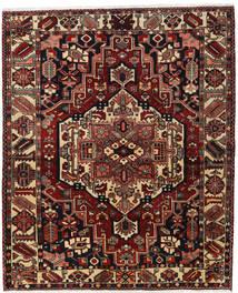 Bakhtiar Alfombra 170X207 Oriental Hecha A Mano Rojo Oscuro/Marrón Oscuro (Lana, Persia/Irán)