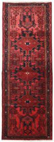 Hamadan Alfombra 109X306 Oriental Hecha A Mano Rojo Oscuro/Roja (Lana, Persia/Irán)