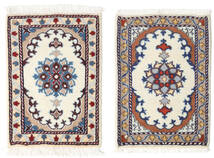 Nain Alfombra 40X60 Oriental Hecha A Mano Beige/Gris Claro (Lana, Persia/Irán)