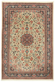 Sarough Alfombra 210X295 Oriental Hecha A Mano Beige/Marrón Claro (Lana, Persia/Irán)