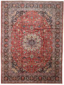 Keshan Alfombra 288X388 Oriental Hecha A Mano Rojo Oscuro/Marrón Oscuro Grande (Lana, Persia/Irán)