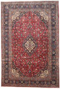 Keshan Alfombra 276X410 Oriental Hecha A Mano Rojo Oscuro/Marrón Oscuro Grande (Lana, Persia/Irán)