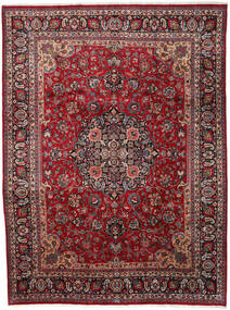 Mashad Alfombra 290X387 Oriental Hecha A Mano Rojo Oscuro/Gris Oscuro Grande (Lana, Persia/Irán)