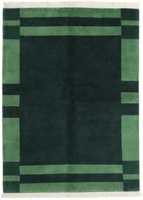 Gabbeh Indo Alfombra 170X230 Moderna Hecha A Mano Turquesa Oscuro/Verde Oscuro (Lana, India)