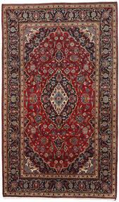 Keshan Alfombra 178X294 Oriental Hecha A Mano Rojo Oscuro/Marrón Oscuro (Lana, Persia/Irán)