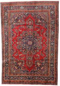 Hamadan Alfombra 190X277 Oriental Hecha A Mano Rojo Oscuro/Marrón Oscuro (Lana, Persia/Irán)