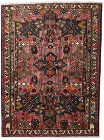Hamadan Alfombra 150X200 Oriental Hecha A Mano Rojo Oscuro/Marrón Oscuro (Lana, Persia/Irán)